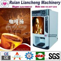 Best instant coffee making machine raw material 3 in 1 microcomputer Automatic Drip coin operated instant wholesale