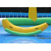Best New inflatable seesaw banana seesaw ride-on pool toys for commercial wholesale