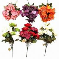Buy cheap Single rose flower bouquets for wedding party decoration from wholesalers