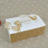 Best Logo Printed Popcorn Chicken Box , Disposable Paper Box For Fast Food wholesale