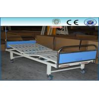 Best Three Function Manual Hospital Bed With PP / ABS Head And Foot Board wholesale