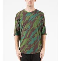 China Camouflage Printed Dry Fit Sublimation Printing T Shirts Loose Fit Moisture Wicking on sale
