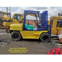 China FD50 5 Ton Used Industrial Forklift Manual Pallet Truck Power Type on sale