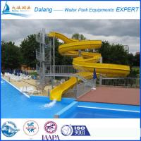 Best Large Swimming Pool Water Slide With Open Slide wholesale
