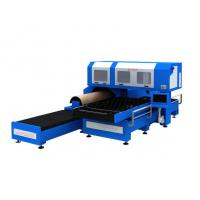 Best 1500w 3 Phase CO2 Metal Laser Cutting Machine With Flat / Rotary Die Cutting wholesale