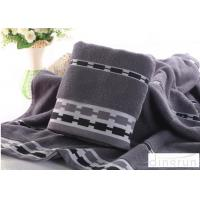 Best Jacquard Style Microcotton Bath Towels Natural Anti Bacterial 400 Gsm wholesale