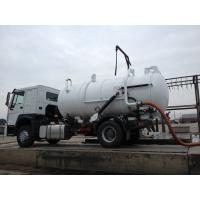 Best 10000L Capacity 4X2 Sewage Suction Truck ZF8098 336HP Sewage Vacuum Truck wholesale