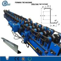 Galvanized Steel C Z Purlin Cold Roll Forming Equipment For Building Material