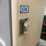 Best Vandal Resistant  ABS Plastic Locker 4 Tier Beige Door Gray Body For Factory wholesale