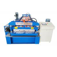 China Coil Width 1000mm Automatic Roll Forming Machine , PPGI Wall Sheet Roll Forming Machine on sale