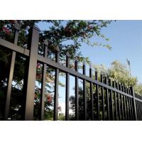 Best Diplomat steel 2100high road steel garrison fence Panels for wrought iron fence/steel fence wholesale