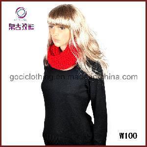 Best Polyester Fashion Round Neck Scarf (W100) wholesale