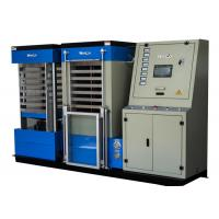 Best Blue Hydraulic Board Laminating Machine With Single Cylinder For A3 Size Card , 22KW Power wholesale