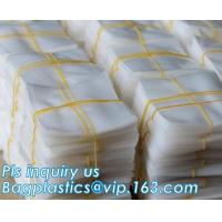 China Plastic 2mil PE Flat Poly Bag For Food Packaging, PE Flat Poly Bag With Side Gusset For Food Packaging, Flat Opening OPP on sale