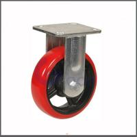 China High Quality Factory Supplied Polyurethane Material 95 Shore A red polyurethane swivel caster wheel on sale
