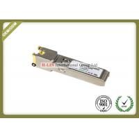 Best Small Form Pluggable Sfp Transceiver Module With Spring Latch 10base-T 100base Tx wholesale