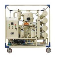 Best Stainless Steel Transformer Oil Purifier Oil Filtration Plant With Digital Temperature Controller wholesale