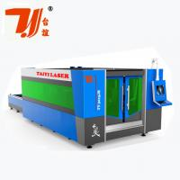 Best SS Fiber CNC Laser Metal Cutting Machine With 8mm Steel Structure wholesale
