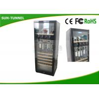 Best One Glass Door Alcohol Vending Machine Wine Kiosk With ED Lighting System wholesale
