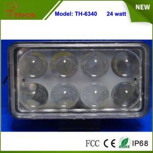 "Best 6"" 24W Epistar 1760LM LED work Light Spot beam 9V-60V Offroad Boat ATV RV SUV lamp wholesale"