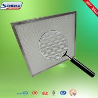 China Mini Fiber Glass Media High Efficiency Air Filter Stainless Steel Frame Air Purifier Filters on sale