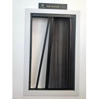 Best Aluminum alloy frame with polyester pleated mesh folding fly screen door wholesale