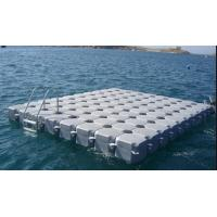 Best Plastic Modular Floating Pontoon System Customized Size High Load Capacity wholesale