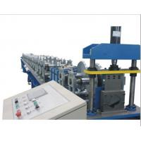 Best PLC Control Gutter Forming Machine Hydraulic Cutting For Rainwater Round Gutter wholesale