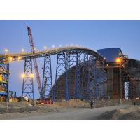 China Durable Belt Conveyor Structure Light Steel Frame Structure For Copper Mining on sale