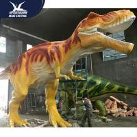 Best Vivid Life Size Theme Park Decoration Professional Realistic Dinosaur Models for sale wholesale