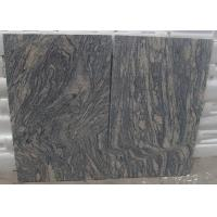 China Polished G441 China Light Grey pink Juparana Imperial Sand Wave Granite Tread stone tiles slabs on sale