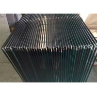China Clear Tempered Glass Railing Panels / 4mm Colored Tempered Glass Sheets on sale