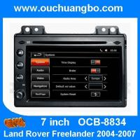 Best Ouchuangbo audio DVD gps navi Land Rover Freelander 2004-2007 support AUX USB wholesale