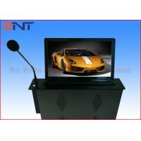 Buy cheap 18.5 Inch Motorized Computer Desk Monitor Lift With Conference Microphone product