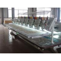 China Flat / Cording / Taping Multi Head Mixed Embroidery Machine With Automatic Thread Trimmer on sale