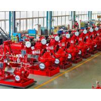 Best Large Capacity Ul Listed Fire Pumps / Bronze Fire Fighting Diesel Pump wholesale