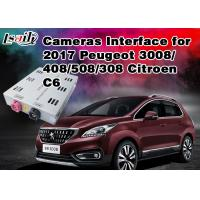 Buy cheap Peugeot Reverse Camera Interface Integrate Video Source TV / Rear System ,  RoHS SGS , Active Parking Guideline from wholesalers