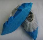 Best Disposable Polypropylene Shoe Covers , Plastic Protective Shoe Covers Dust Proof wholesale