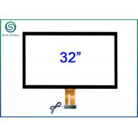 Buy cheap 32 Inches ITO Technology Capacitive Touch Screen Panel Kit With USB Cable from wholesalers