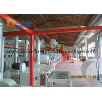 Best Red Color Roll Winding Airlaid Paper Making Machine , Paper Products Manufacturing Machines wholesale