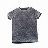 Best 60% cotton 40% polyester jersey 140gsm men's T-shirt wholesale