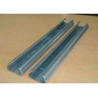Best Anti Rust Greenhouse Accessories Fixing Film Profile Lock Channel With Spring Wire wholesale