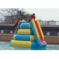 Best Lead Free Inflatable Tube Slide , 4mx4mx4m Blow Up Water Toys High Durability wholesale
