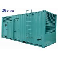 Best 1800RPM Heavy-Duty Cummins Diesel Generator with 20ft Container Canopy wholesale