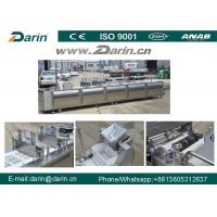 Best Peanut Candy Bar Maker Cutting Machine / Cereal Fruit Nut Bar Production Line wholesale