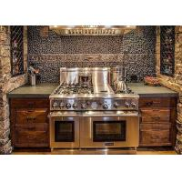 Best Grey Granite Bathroom Vanity Tops With Home Cabinet Polished Surface wholesale