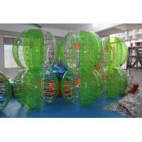 China Advertising Green Crazy Sport Games Outdoor Knocker Ball 6 Panels wholesale