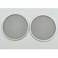 China 10 20 50 100 200 Stainless Steel Filter Disc / Stainless Steel Mesh Disc on sale