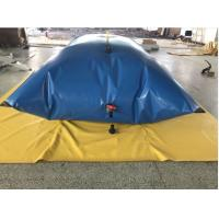 Best Emergency Rescue Drought Resistance  PVC Tarpaulin Water Tank wholesale