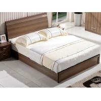 Cheap Cheap style rent Apartment home furniture melamine plate bed 1.2m- 1.5m-1.8 m for sale